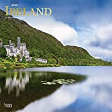 Ireland 2020 12 x 12 Inch Monthly Square Wall Calendar with Foil Stamped Cover, Scenic Travel Dublin Irish (English, Spanish and French Edition)