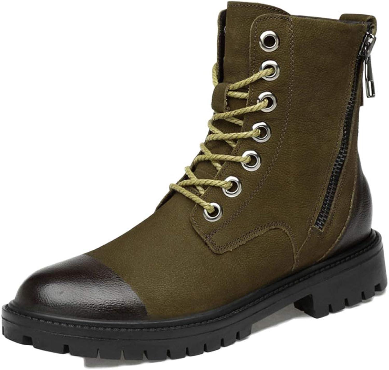 Men's Boots Work Boots Mens Lightweight Waterproof Trainers shoes Mid-range Booties