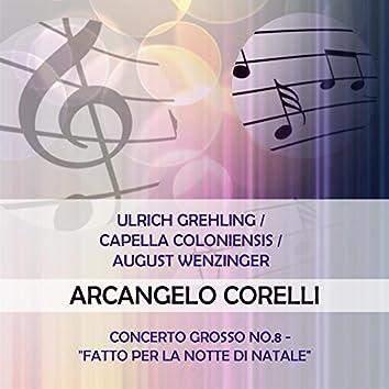 """Ulrich Grehling / Capella Coloniensis / August Wenzinger Play: Arcangelo Corelli: Concerto Grosso NO.8 - """"Fatto Per La Notte di Natale"""" (Live)"""