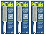 U.S. Pumice TBR-6 Toilet Bowl Ring Remover Ready to use with handle to take away lime (Pack of 3)