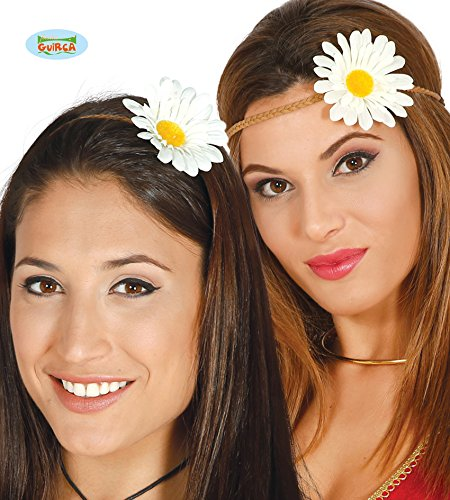 Fiestas Guirca Bande de Hippie Hippie avec Fleur