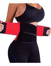DODOING Midje trimmer övning wrap bälte andas bränna fett svett viktminskning kroppsformare