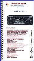 Icom IC-7600 Mini-Manual by Nifty Accessories [並行輸入品]