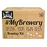 Pale Ale Beer Making Kit | Brew up to 5 litres of Craft Beer | Reusable Materials | All Grain | Home Brewing Started kit