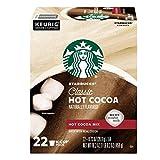 Starbucks Classic K-Cup Pods, Hot Cocoa, 22 CT