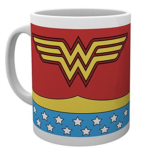 GB Eye Ltd MG1591 Tazza Costume da Wonder Woman, Ceramica, Multicolore