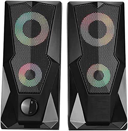Live Tech SP12 Gaming LED 2.0 Stereo Speaker
