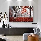 Pintura sin Marco Arte manglar Bosque Lienzo Pintura decoración del Paisaje Arte de la Pared Sala de Estar decoración del hogarZGQ4798 40X60cm