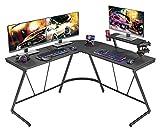Mr IRONSTONE L-Shaped Gaming Desk 50.8' Computer Corner Game...