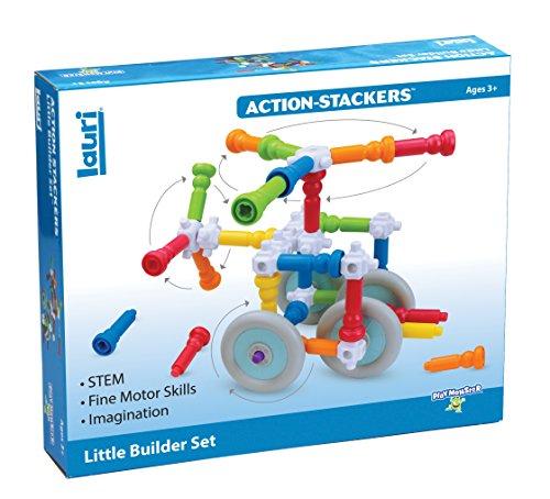 PlayMonster Lauri Action-Stackers - Little Builder Set