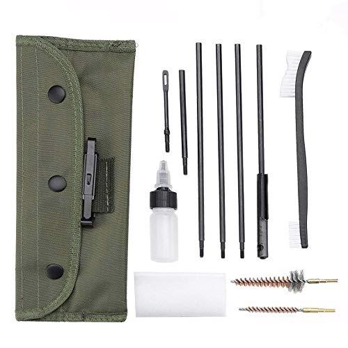 Xrten 12 en 1 Universal Kits de Limpieza portátil para Pistola Rifle Escopeta