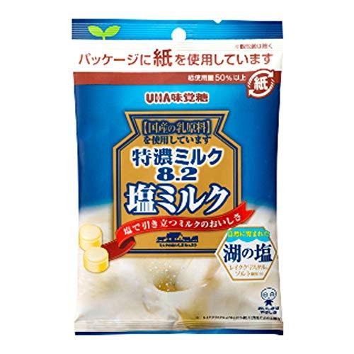 UHA味覚糖『特濃ミルク8.2 塩ミルク』