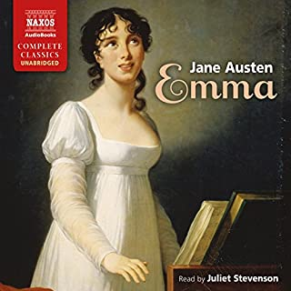 Emma [Naxos]                   By:                                                                                                                                 Jane Austen                               Narrated by:                                                                                                                                 Juliet Stevenson                      Length: 16 hrs and 39 mins     74 ratings     Overall 4.6
