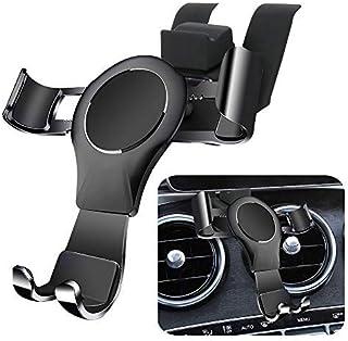 LUNQIN Car Phone Holder for Mercedes 2014-2018 Benz C Class c180 c200 c300 GLC Class 2015-2019 GLC200 GLC260 GLC300 Auto A...