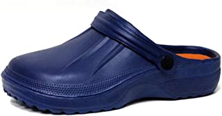 Mens Ladies EVA Garden Hospital Chef Nurse Beach Slip On Clogs Mule Slippers Rubber Pool Sandals Size 4-11