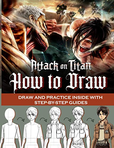 attack on titan drawing book - 6