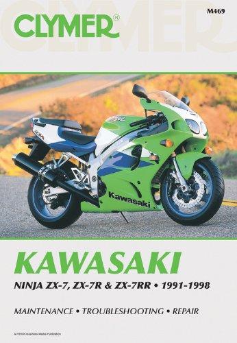 Kaw ZX& Ninja 91-98: Clymer Workshop Manual