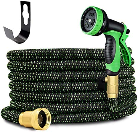 ENYOON Expandable Garden Hose 100 ft with 10 Function Spray...