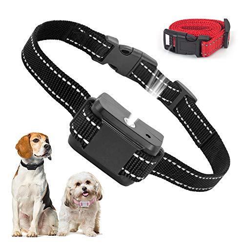 SOYAO Collares antiladridos para Perros, Dispositivos antiladridos para Perros con pulverizador automático para Entrenamiento de Perros, Collar antiladridos para Perros pequeños, medianos Grandes.