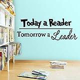 CDNY Die Leser von Heute und die Wandaufkleber von Morgen bieten die Bildungsversion 116X42 cm