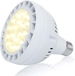 25W LED Grow Light Bulb Daylight Plant Light, Natural Sunlight Full Spectrum Grow Bulb, Sunlike Plants Grow Bulb for Seeding Blooming Fruiting, Sunlight White UV&IR