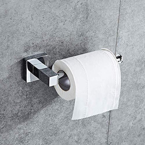 YLLAND Tenedor de Rodillo montado en el baño Accesorios de Hardware de Acero Inoxidable Soporte de Inodoro Toalla Rack Baño Rollo de Inodoro Rosa de Almacenamiento Toalla Toalleres LNNDE