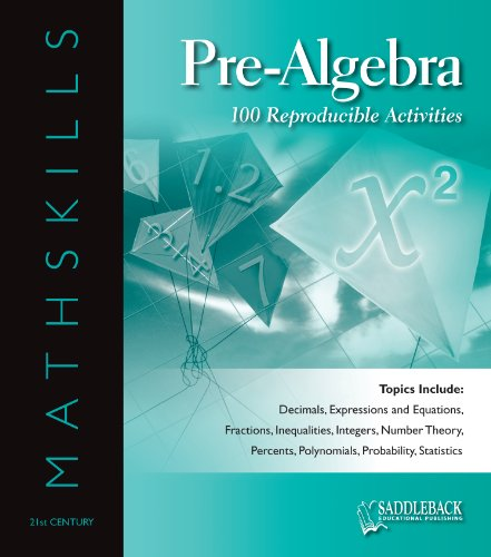 Download Mathskills Pre-Algebra (English Edition) B00B0YBMOI