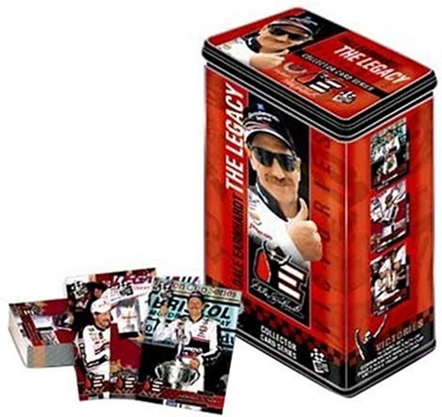 Dale Earnhardt  The Legacy Collector Card Tin