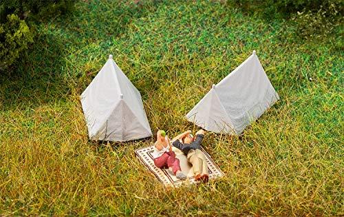 Faller 180987 Tents (4) Kit