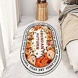 Manta de noche ovalada alfombra habitacion Alfombra mullida Alfombra de Felpa Antideslizante Lujosa Suavealfombras mullidas de Interior Moderno Alfombra Vintage Style para Comedor Pasillo y Habitación