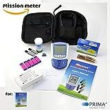 Amazon Starterpaket PLUS Bundle (Mission 3in1 Cholesterin Messgerät + 5 Cholesterin Test Streifen +...