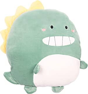 Soft Dinosaur Plush Hugging Pillow Cute Stuffed Animal Toy Kids Gifts for Birthday, Valentine, Christmas 15 inch×13 inch