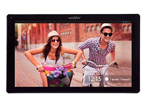 Wolder miTab Cleveland - Tablet de 10.1' (WiFi, HD, Quad Core, 1 GB de RAM, 8 GB, Dual CAM, Android 4.4)