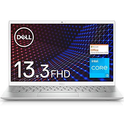 Dell モバイルノートパソコン Inspiron 13 5301 シルバー Win10/13.3FHD/Core i3-1115G4/8GB/256GB SSD/Web...