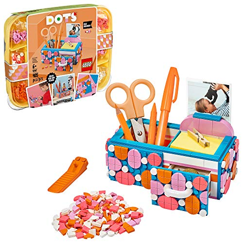 Product Image of the LEGO DOTS Desk Organizer 41907 DIY Craft Decorations Kit for Kids who Like...