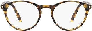 PO3092V Phantos Prescription Eyeglass Frames, Brown/Beige...