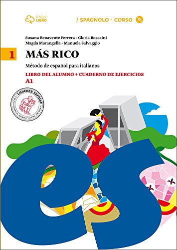 Mas rico. Libro del alumno-Cuaderno de ejercicios. Per la Scuola media. Con CD Audio formato MP3. Con e-book. Con espansione online (Vol. 1)