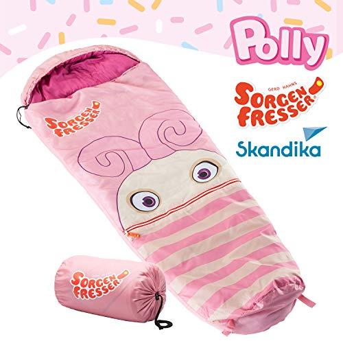 skandika Sorgenfresser Polli–Schlafsack für Kinder, Unisex, Rosa