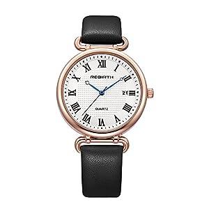 Women's Watches with Rose Gold Dressy Elegant Design Analog Wrist Watch for Ladies/Girls Fashion Designer