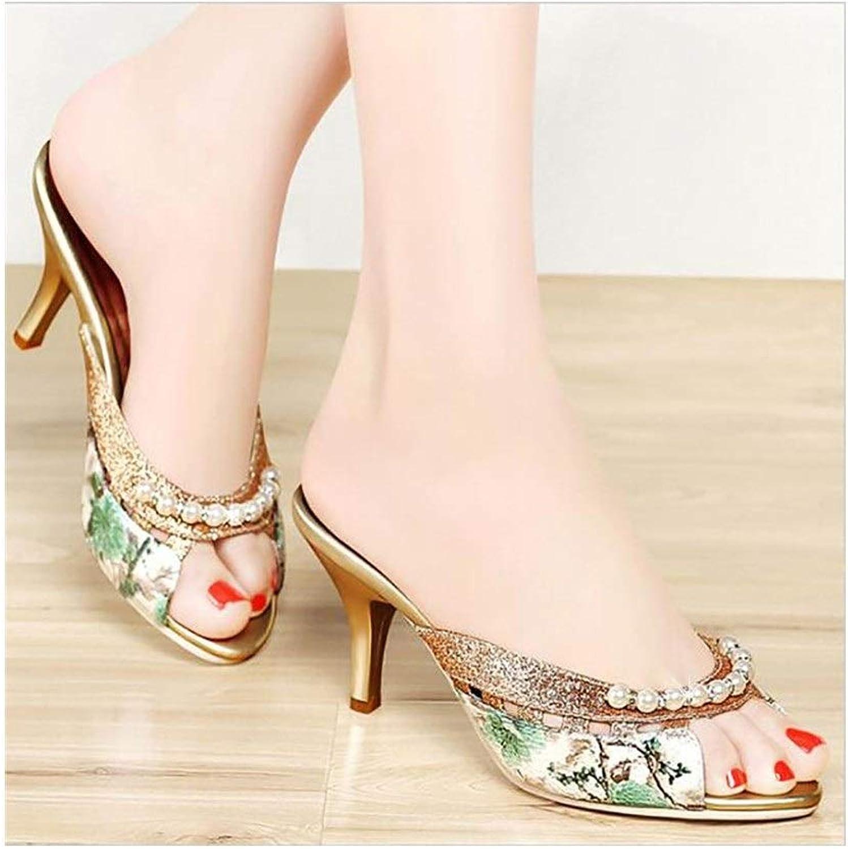 DYYYMX Kvinnors sommarskor, Modeionable strand skor, ny Wild Out of of of Sandals.Mode A, Storlek  36  outlet butik