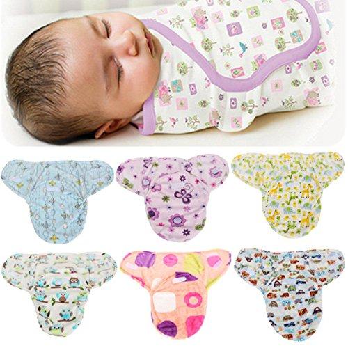 Grote Bazaar Bazaar zachte peuter pasgeboren baby Swaddleme Baby Wrap deken slaapzak