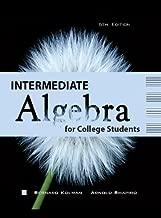 Intermediate Algebra for College Students 6th Edition