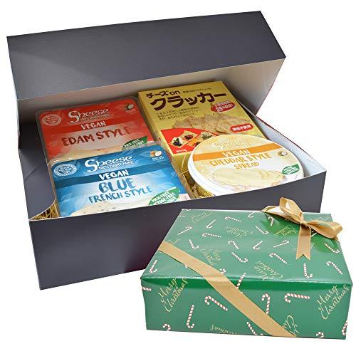 シーズ3種と全粒粉クラッカー(5枚×4袋)乳製品不使用 動物成分なし ココナッツオイル オーツ麦 グルテンフリー 植物性チーズ 砂糖不使用 コレステロールフリー