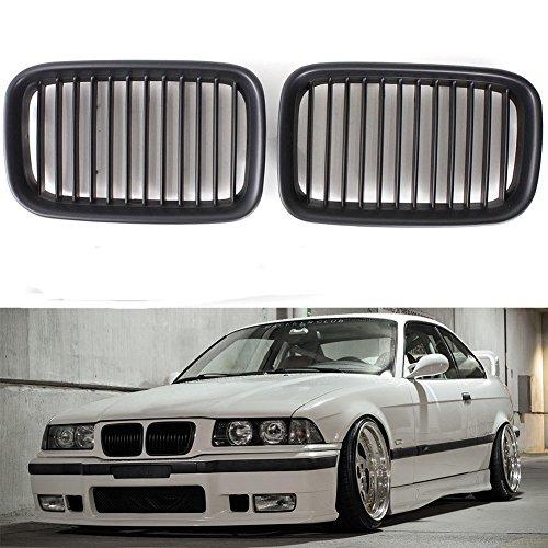 E36 92-96 - Griglia anteriore per paraurti anteriore nero opaco