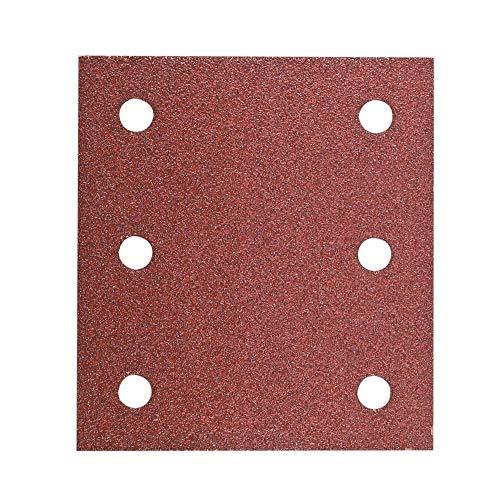 Hitachi–753041Schleifpapier Blatt für Schwingschleifer 114x 104mm Körnung 40mit Klettverschluss (10)