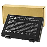 Futurebatt 6 Cell Laptop Battery for ASUS k61ic K60IJ K50IJ K50I K60I A32-F82 A32-F52 X8D X8B