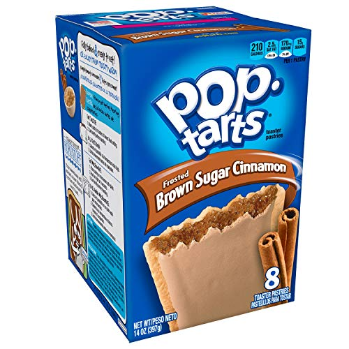 Kellogg's Poptarts Brown Sugar Cinnamon, 397gr