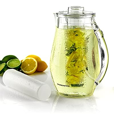 OVENTE Infused Water Pitcher 85 Ounces with Lid...