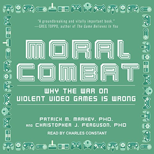 Moral Combat audiobook cover art