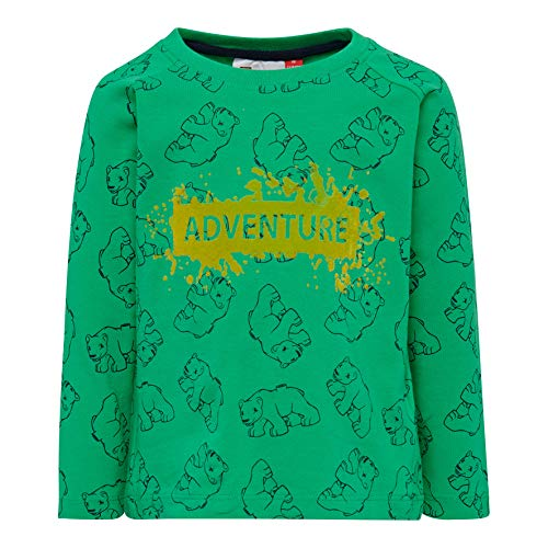 LEGO Duplo LWTERRENCE T-Shirt Manches Longues, Vert (Verde 866), 92 Bébé garçon
